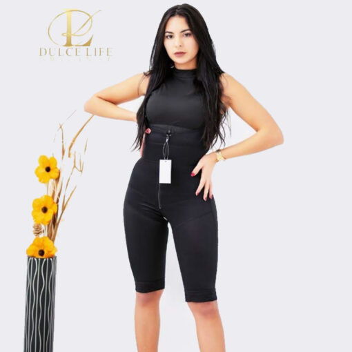 faja enteriza negra, modelo faja colombiana